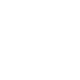 auricular phone symbol in a circle